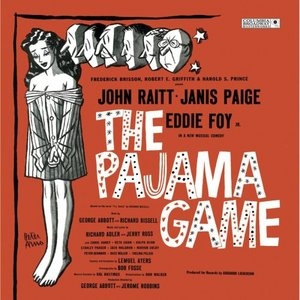 The Pajama Game  (1954 Original Broadway Cast) album cover