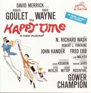 The Happy Time (1968 Original Broadway Cast) album cover