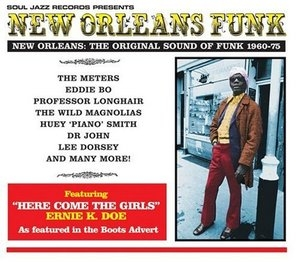 New Orleans Funk album cover