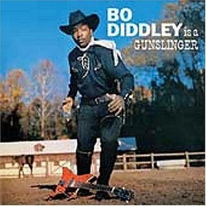 Bo Diddley Is A Gunslinger album cover