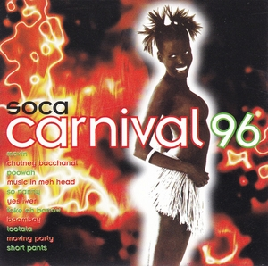 Soca Carnival 96 album cover