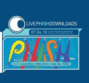 Live Phish 7-4-10 Verizon Wireless At Encore Park album cover
