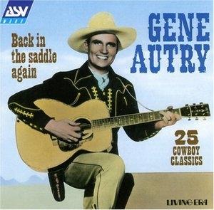 Back In The Saddle Again (ASV) album cover