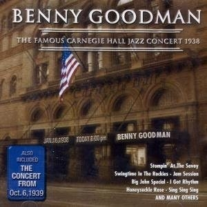 The Famous Carnegie Hall Jazz Concert (1938) album cover