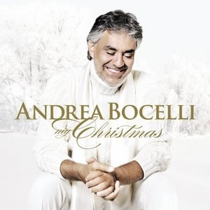My Christmas album cover