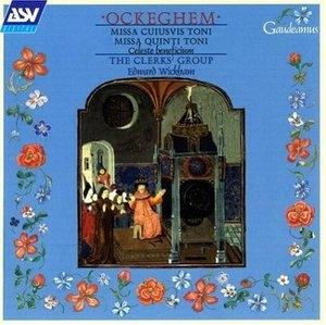 Ockeghem: Missa Cuiusvis Toni album cover