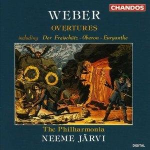 Weber: Overtures album cover