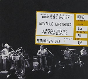 Authorized Bootleg: Warfield Theatre San Francisco album cover