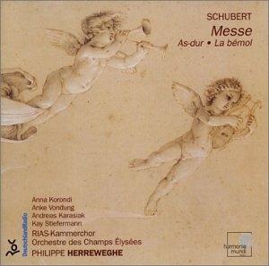 Schubert: Mass In A Flat Major; Psalm 42 album cover