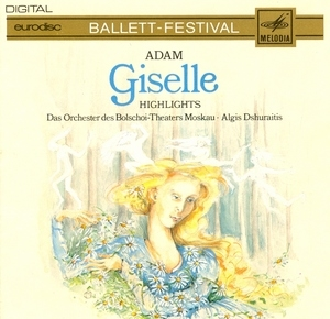 Adam: Giselle Highlights album cover