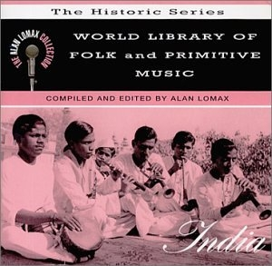 World Library Of Folk And Primitive Music, Vol. 7: India album cover