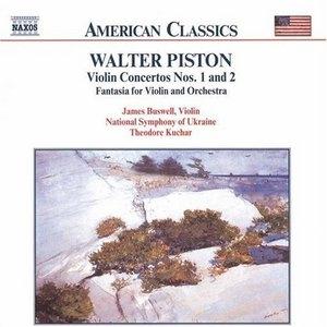 Piston: Violin Concertos Nos.1 And 2 album cover