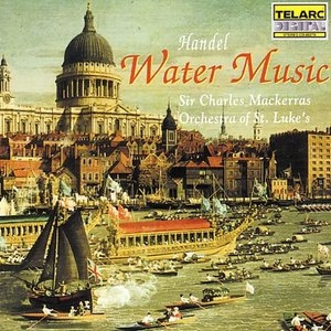 Handel: Water Music album cover