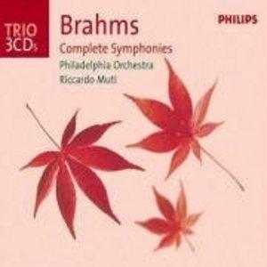 Brahms: Complete Symphonies album cover