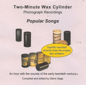 Wax Cylinder: Popular Songs album cover