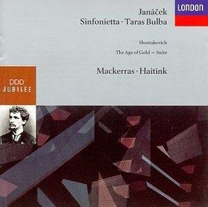 Janacek: Sinfonietta, Taras Bulba album cover