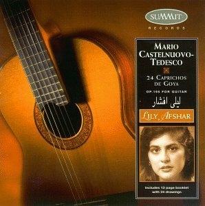 Castelnuovo-Tedesco: 24 Caprichos De Goya album cover