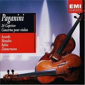 Paganini: 24 Caprices, Concertos Disc2 album cover