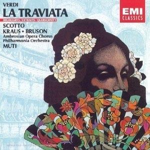 Verdi: La Traviata album cover
