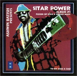 Sitar Power 1: Fusion Of Rock And Indian Music album cover