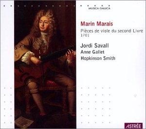 Marais-Pieces De Viole Du Second Livre-1701 album cover