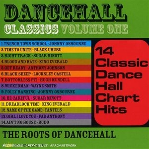 Dancehall Classics, Vol.1: The Roots Of Dancehall album cover
