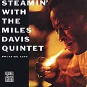 Steamin' With The Miles Davis Quintet album cover