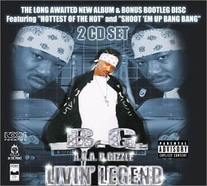 Livin' Legend album cover