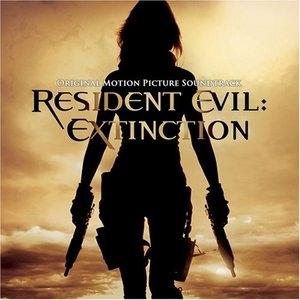 Resident Evil: Extinction (Original Motion Picture Soundtrack) album cover