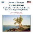 Piston: Symphony No.4 album cover
