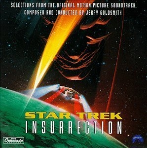 Star Trek: Insurrection (Music From The Original Motion Picture Soundtrack) album cover