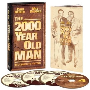 The 2000 Year Old Man:The Complete History album cover