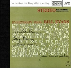 Everybody Digs Bill Evans album cover