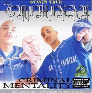 Criminal Mentality album cover