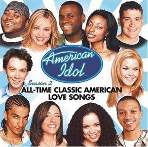 American Idol Season 2: All-Time Classic American Love Songs album cover