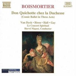 Boismortier: Don Quichotte Chez La Duchesse album cover
