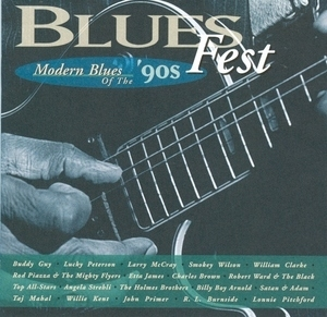 Blues Fest: Modern Blues Of The '90s album cover