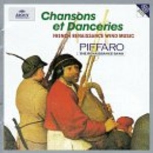 Chansons Et Danceries: French Renaissance Wind Music album cover