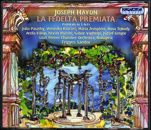 Haydn-La Fedelta Premiata album cover