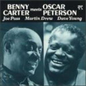 Benny Carter Meets Oscar Peterson album cover