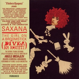 Saxana: The Girl On A Broomstick (Soundtrack) album cover