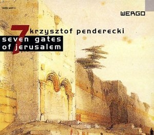Penderecki: Seven Gates Of Jerusalem album cover