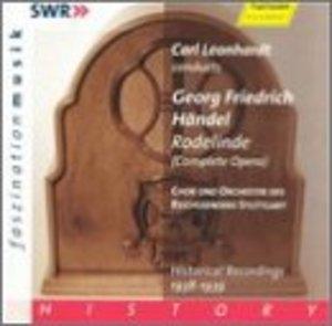 Handel: Rodelinde album cover