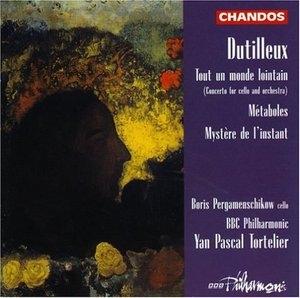 Dutilleux: Metaboles, Tout Un Monde Lointain, Mystere De L'instant album cover