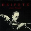 Heifetz Plays Mozart album cover