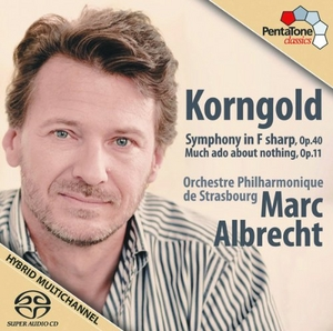 Korngold: Symphony In F: Much Ado About Nothing Suite album cover
