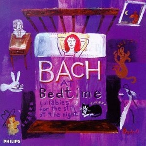 Bach At Bedtime: Lullabies For The Still Of The Night album cover