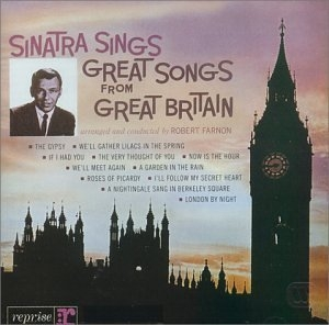 Sinatra Sings Great Songs From Great Britain album cover