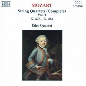 Mozart: Complete String Quartets Vol.1 album cover