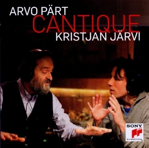 Arvo Part: Cantique album cover